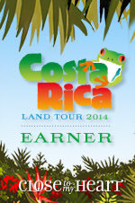 Close To My Heart Costa Rica Trip Earner